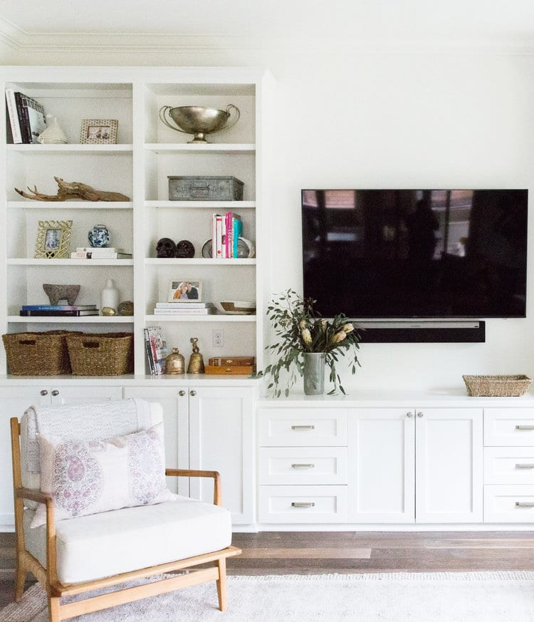 Decorating With A Television In The Living Room