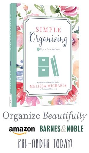 Simple Organizing Book