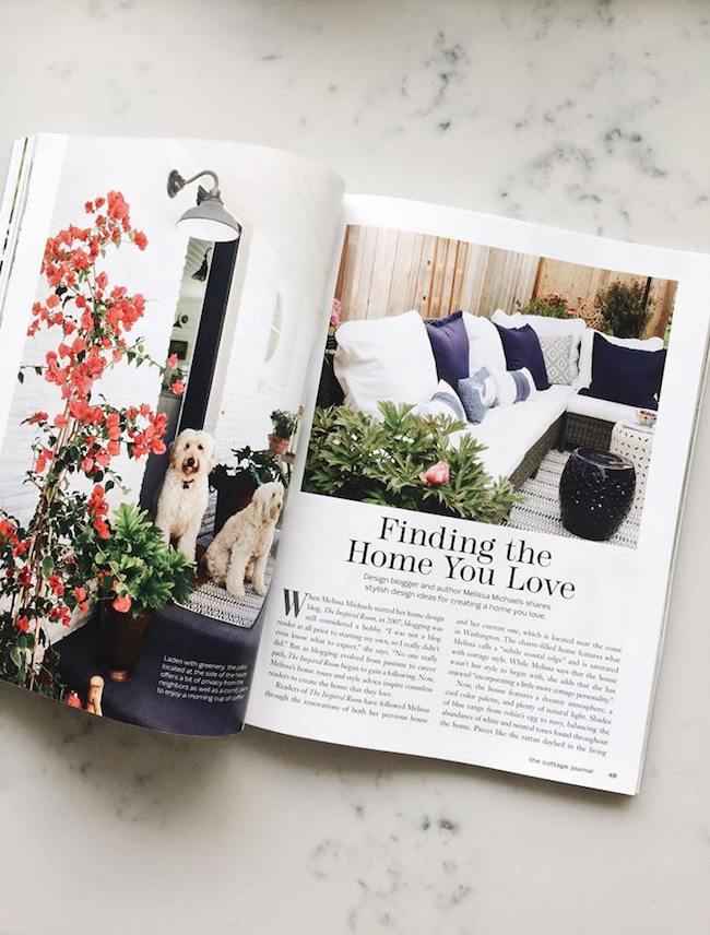 The Inspired Room in The Cottage Journal