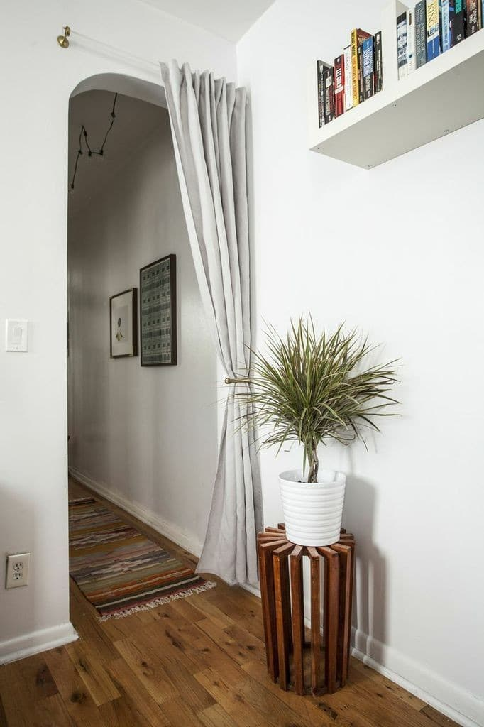 Curtains on Doorways: Creative Concealments