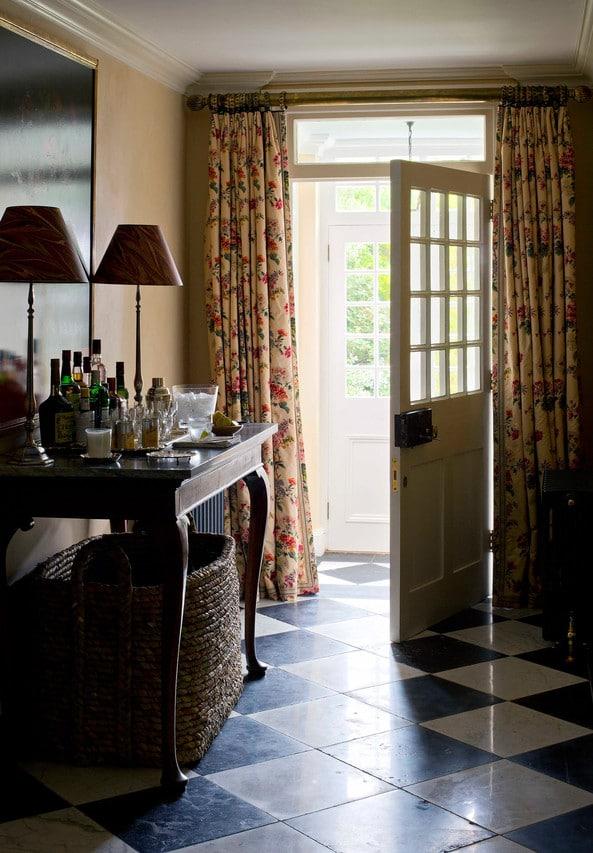 Curtains on Doorways: Creative Concealments