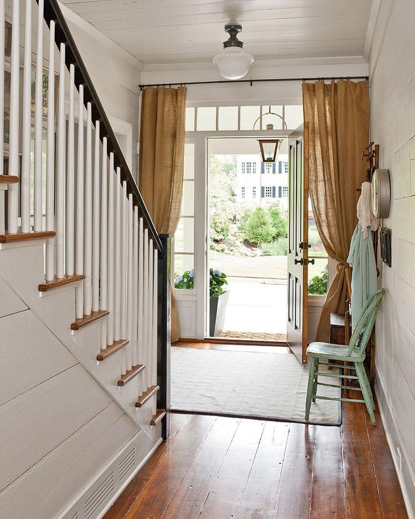 Ordinaire Curtains On Doorways: Creative Concealments