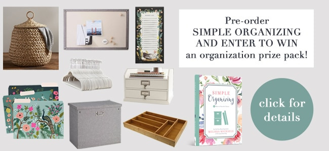 Simple Organizing Book Launch: Clutter Confessions Tour