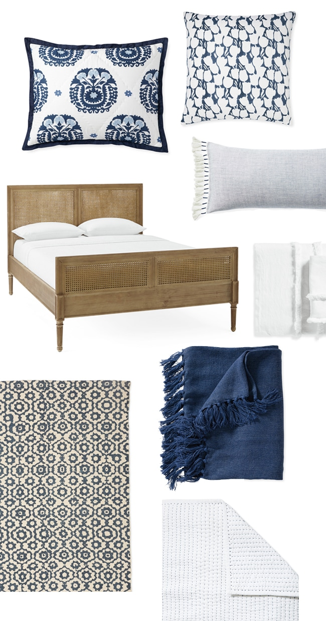 Bedroom Makeover Design Board