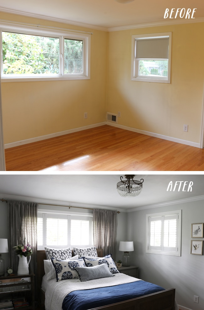 Master Bedroom Makeover - New Bed, Rug & Bedding!