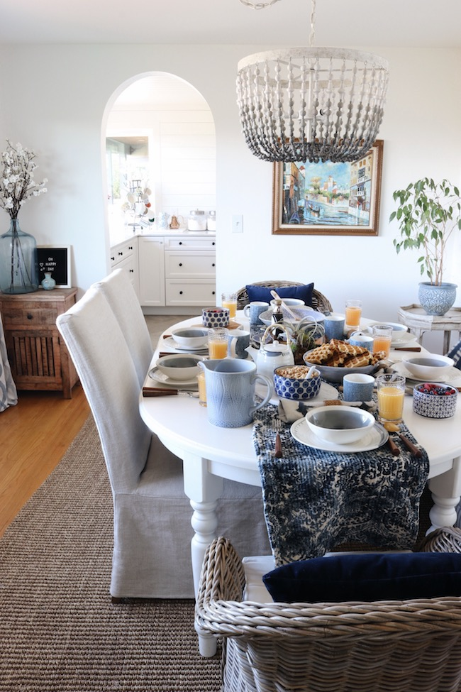 Dining Room + Mother's Day Brunch