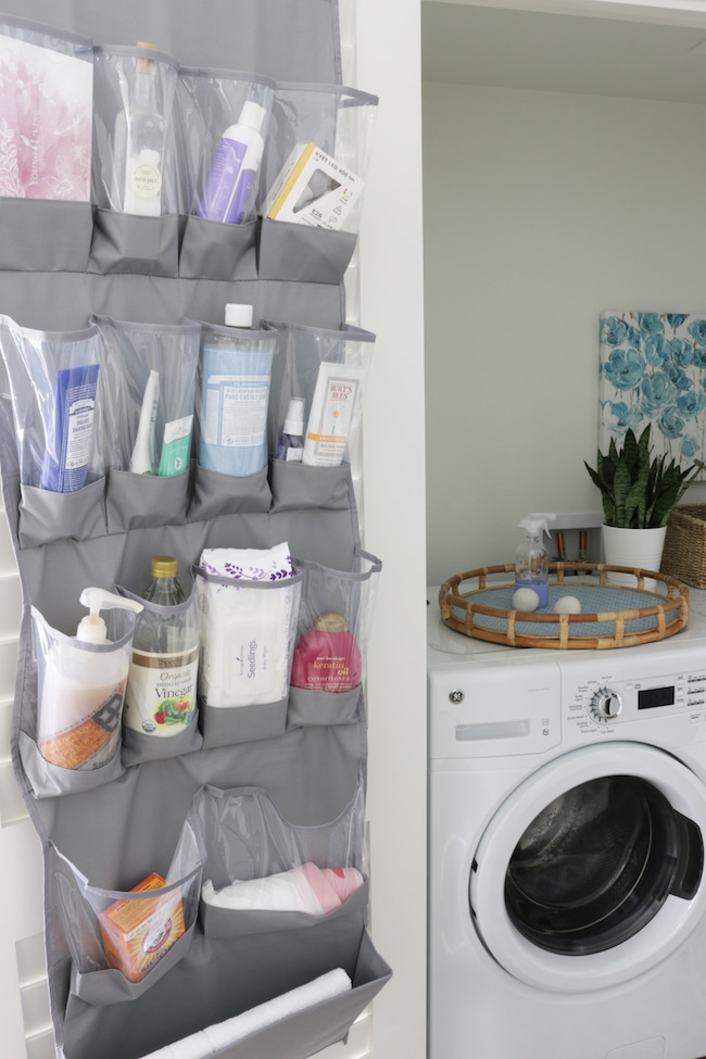 A Cute & Organized 'Laundry Room' in a Closet!