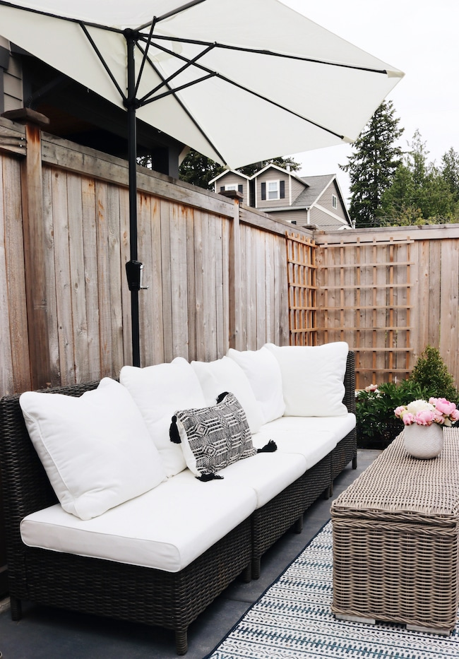 Getting our side patio ready for summer + $500 Gift Card Giveaway