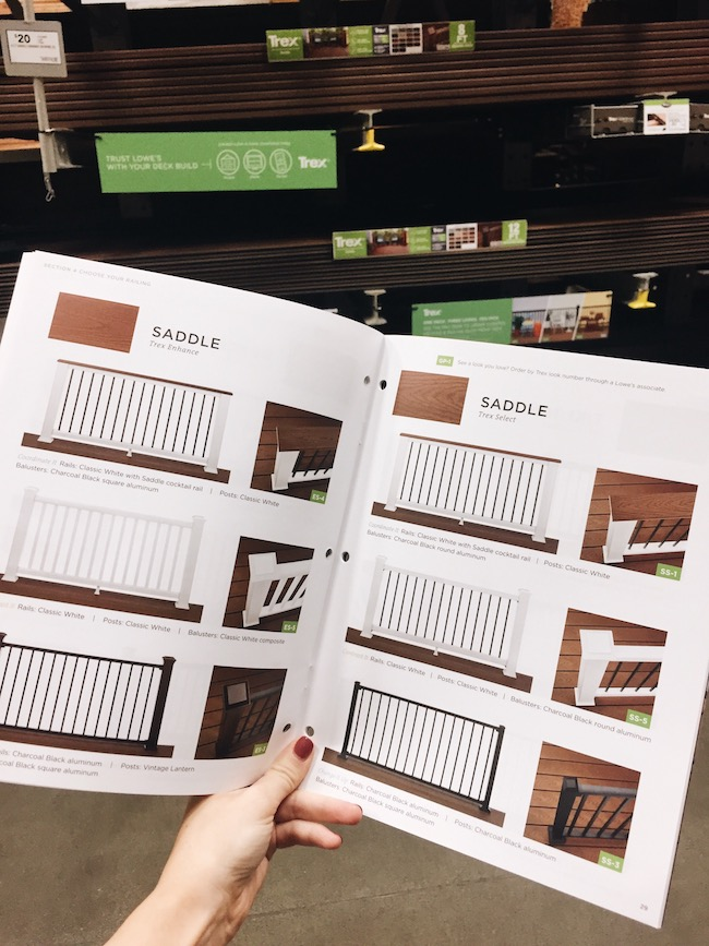 Designing and Shopping for our Trex Deck
