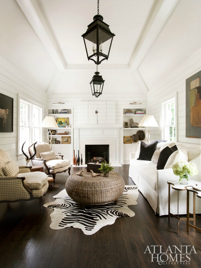 White (+ Neutral) Couch in a Room Inspiration - The Inspired ...