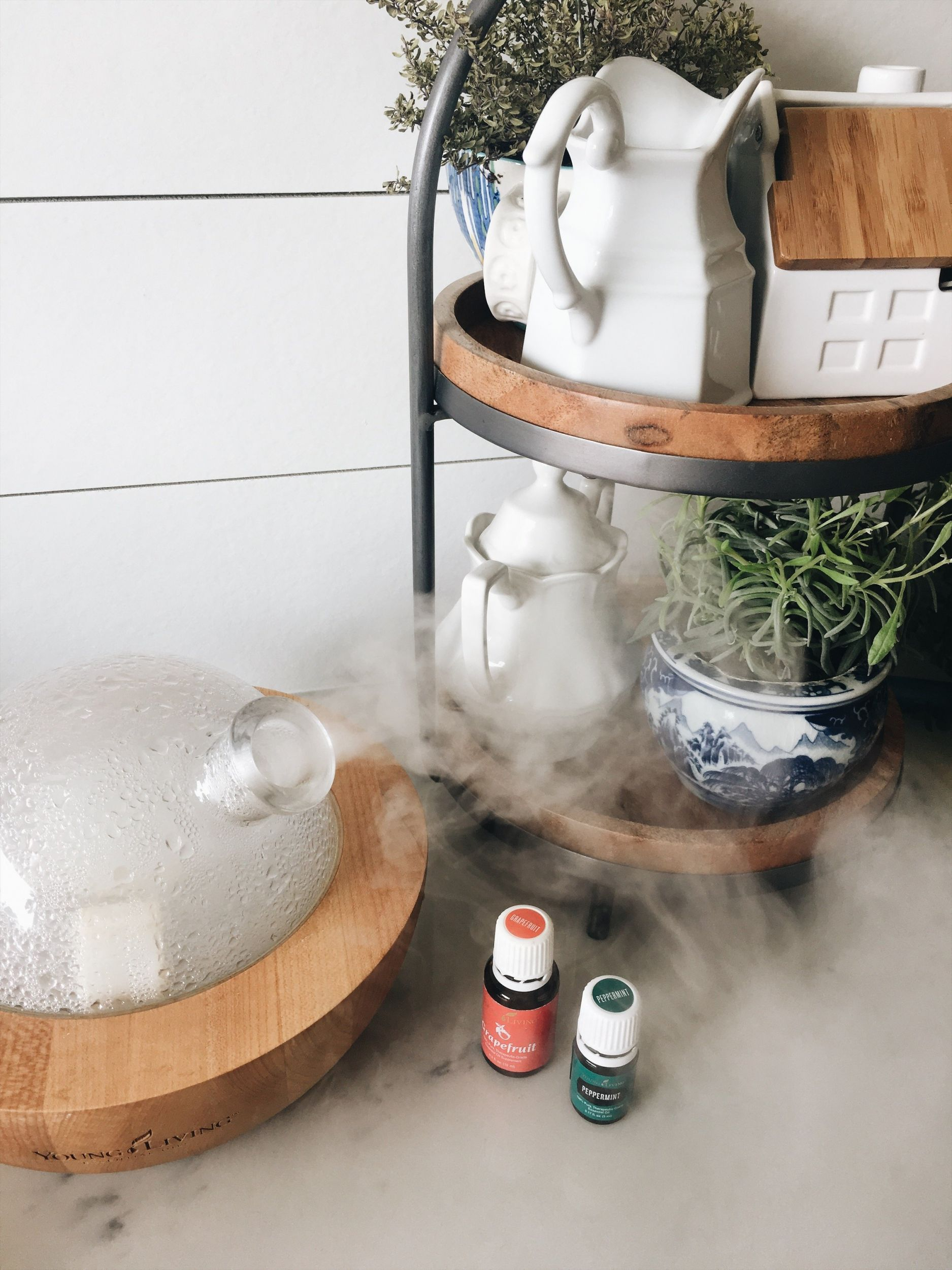 How I Use Essential Oils + Daily Wellness Routines