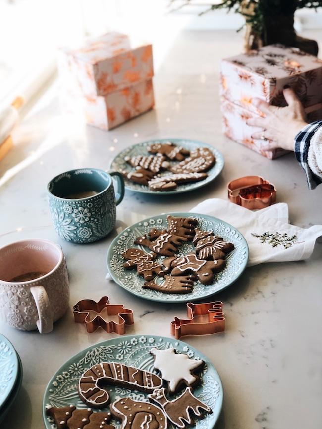 Perfect Winter Kitchen + Gluten Free Gingerbread Cookies