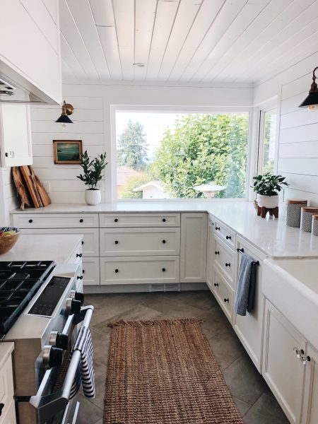 White Galley Kitchen The Inspired Room