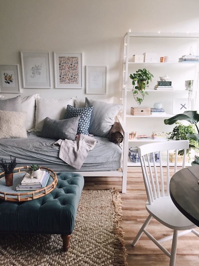 Courtney's Seattle Studio Apartment Tour