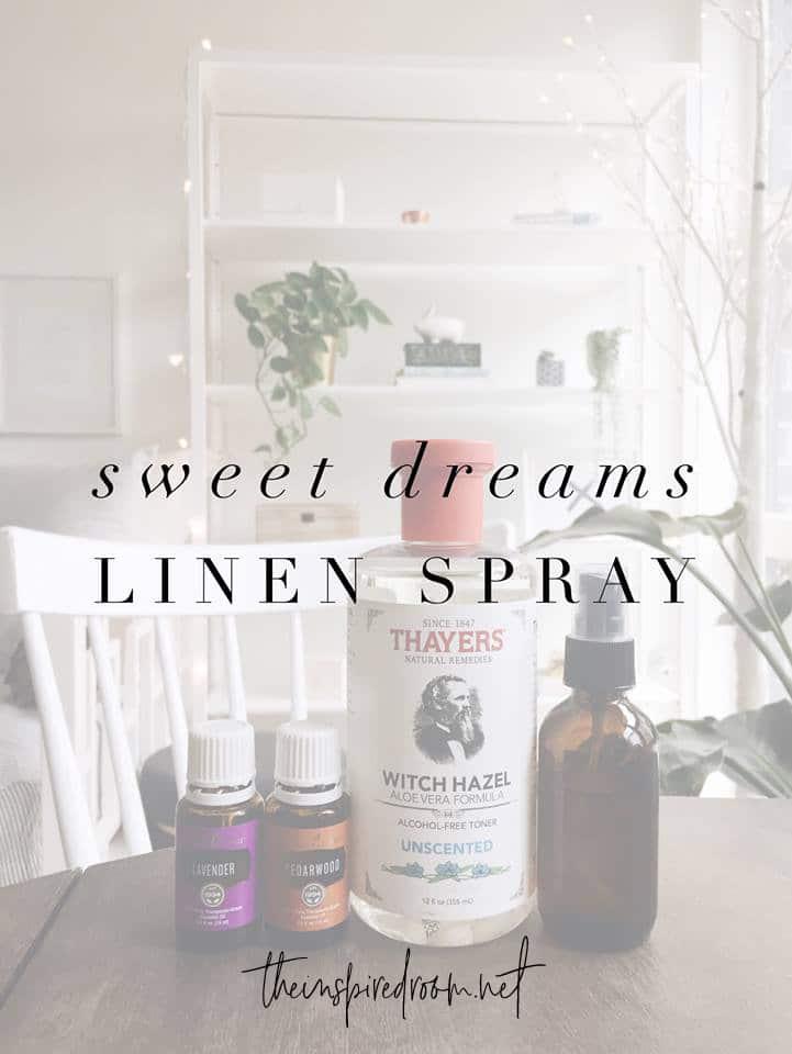 Sweet Dreams Linen Room Spray