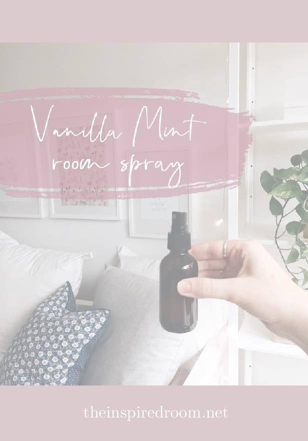 Vanilla Mint Room Spray