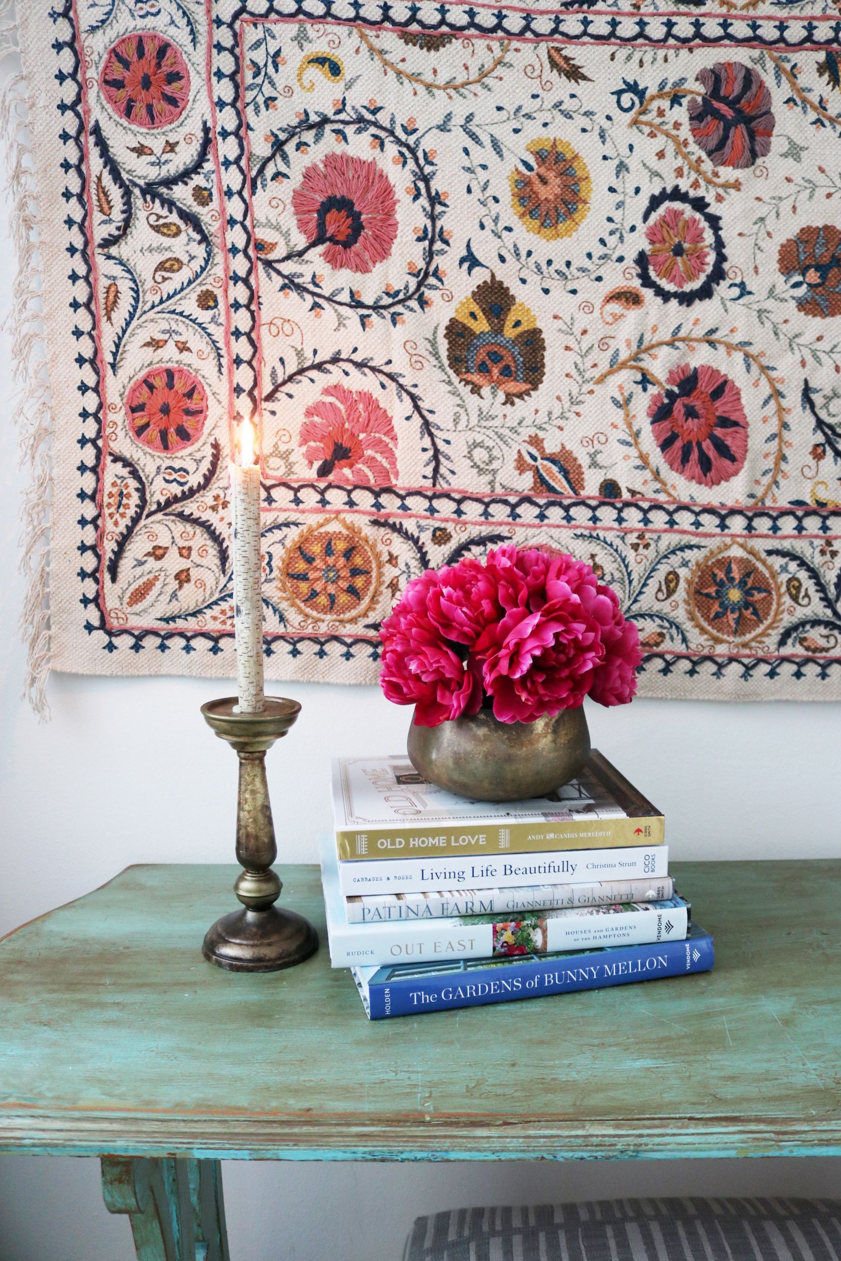 Hang a Rug on a Wall + Sparking Joy