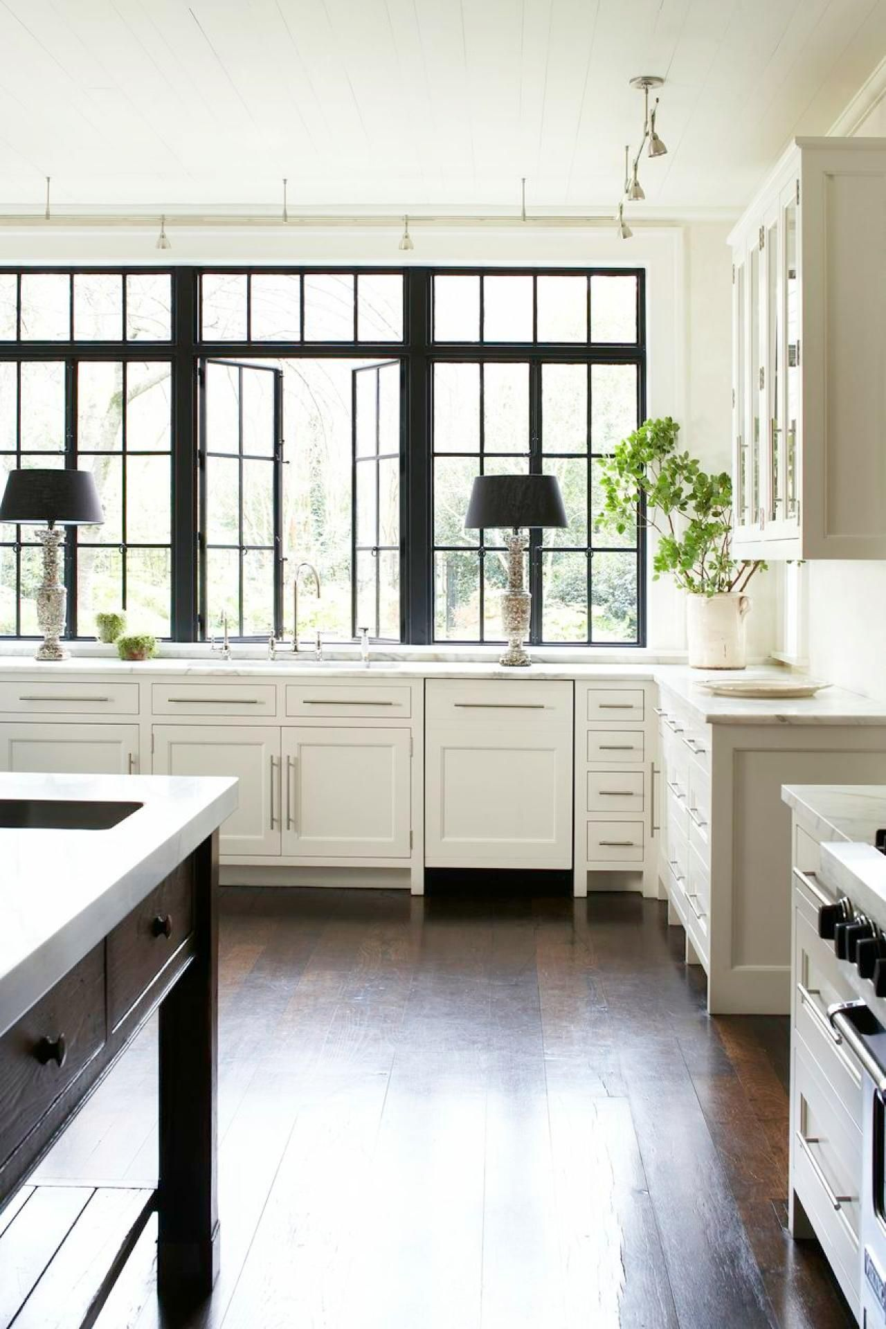Lamps on Kitchen Counters