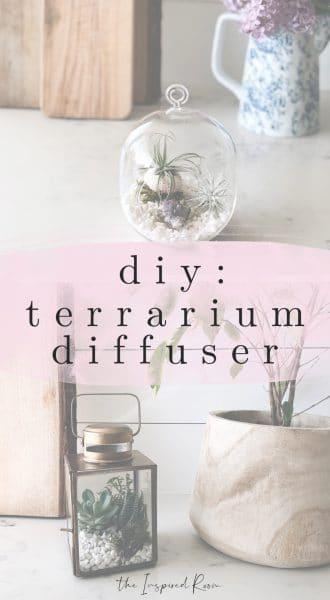 DIY Terrarium Diffuser