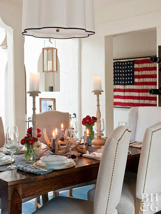 Inspired By: Red White & Blue Decor