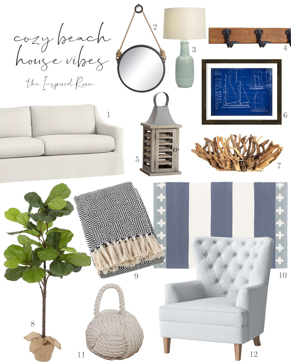 Cozy Beach House: Get the Look