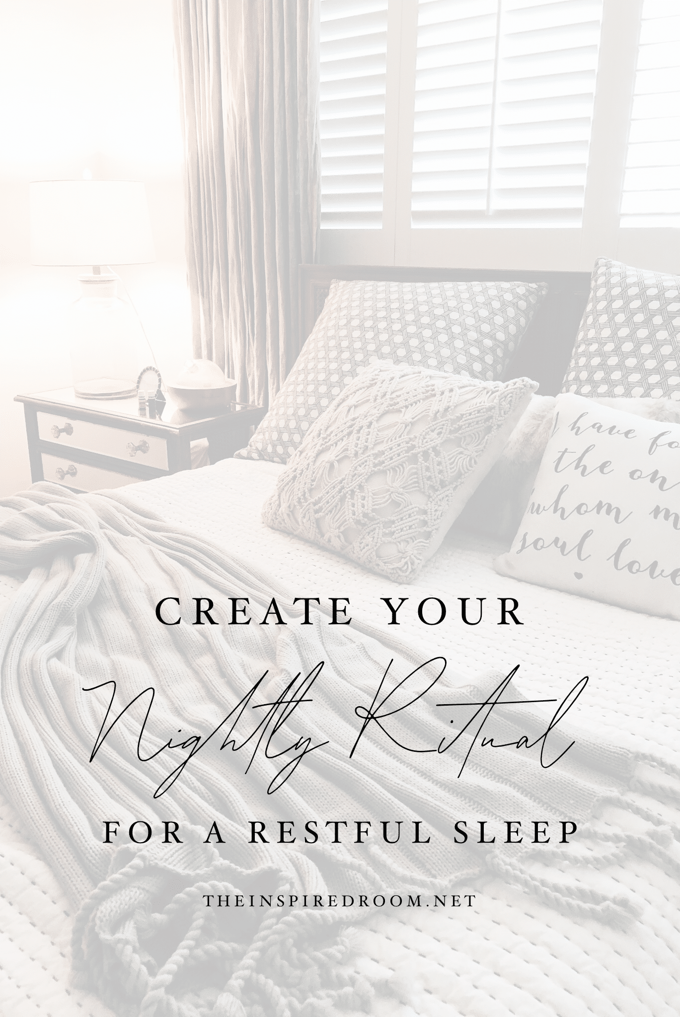 4 Ways to Create a Life-Changing Restful Nightly Ritual