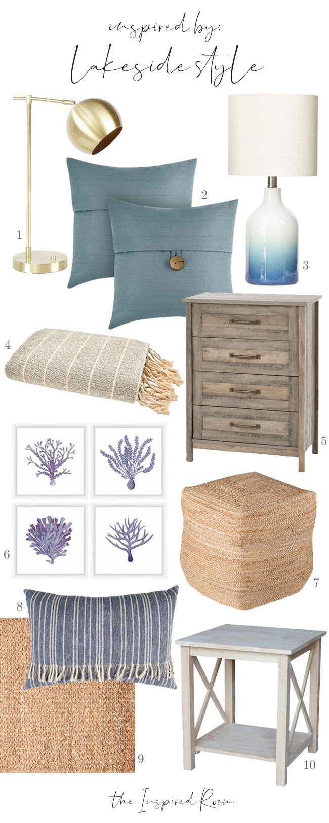 Lakeside Style | Decorating with Walmart Finds