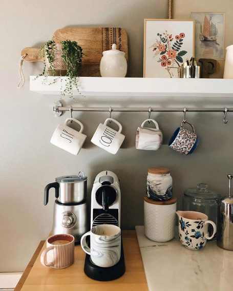 How to Create a Cozy Sips Station (+ Mug Roundup)