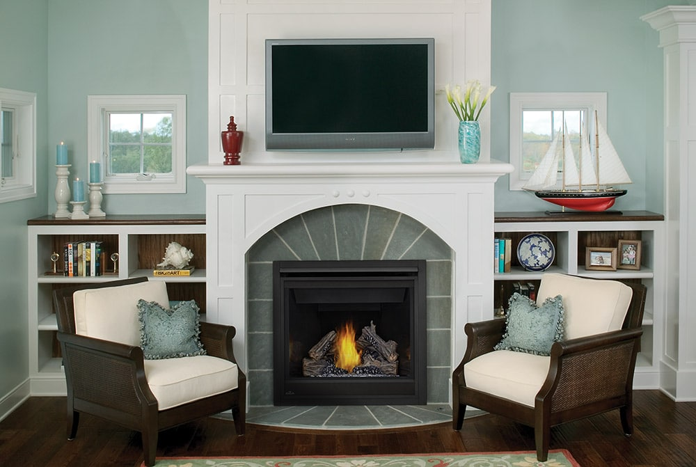 Fireplace Inserts + Design Options