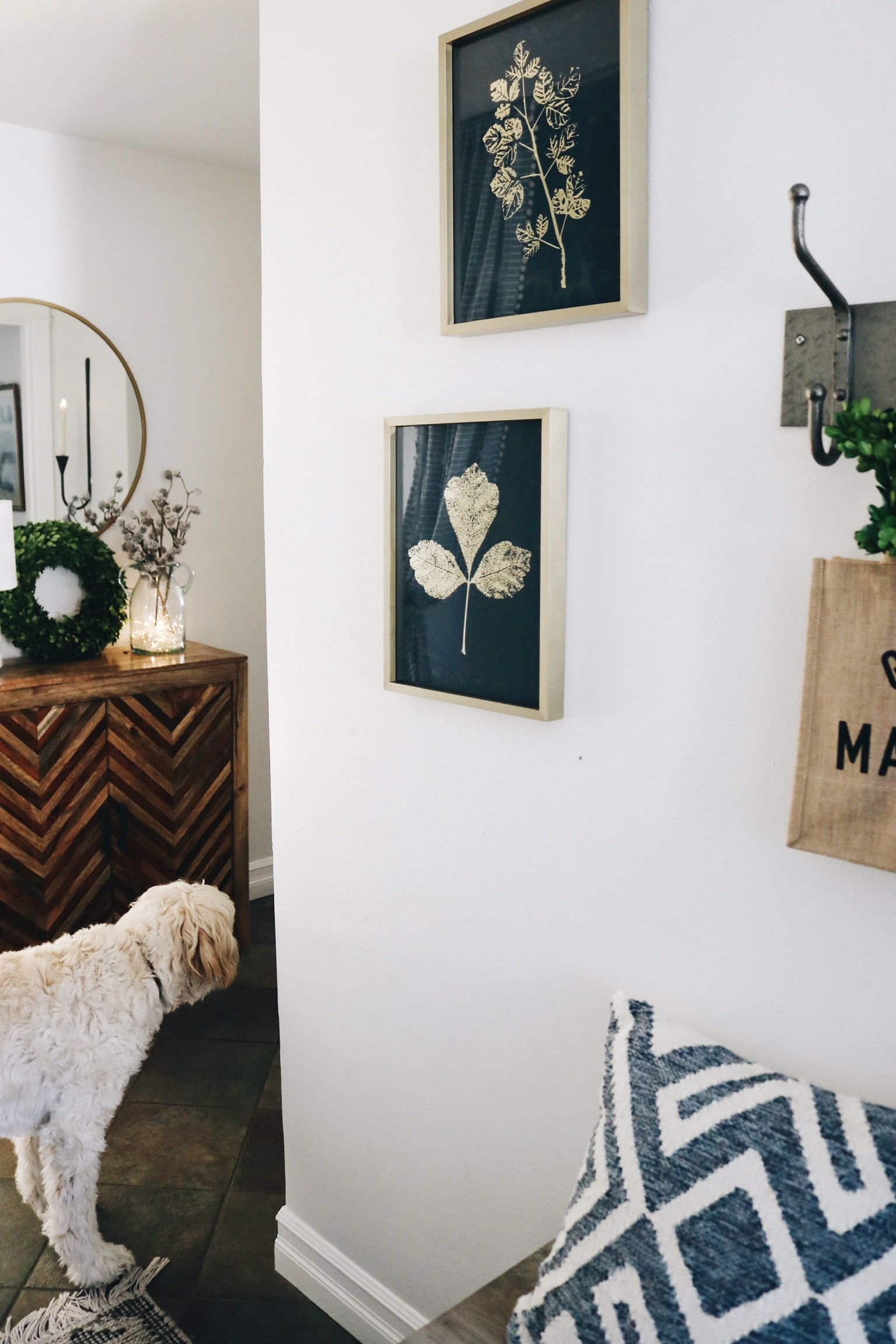 New Hallway Art & Home Style Saturdays