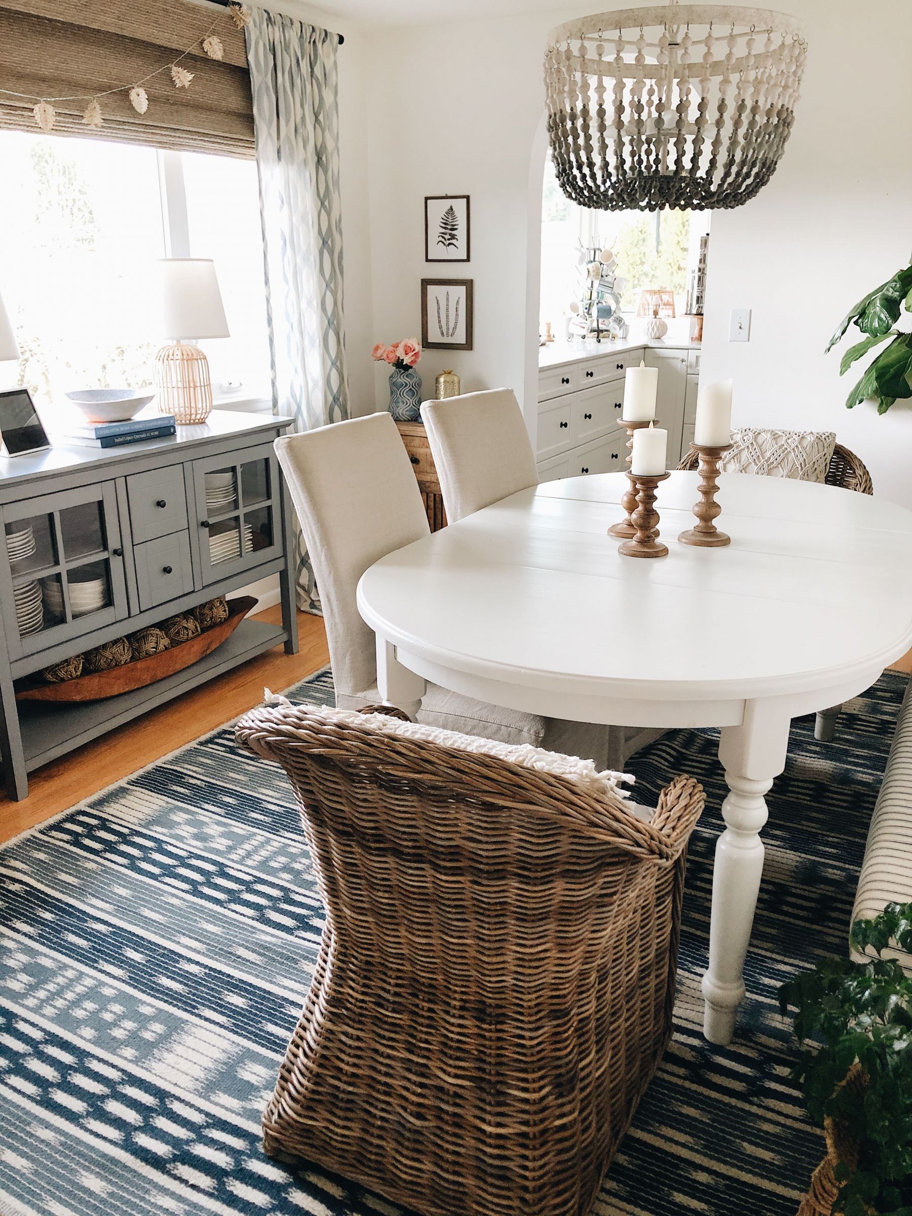Decluttering the Dining Room