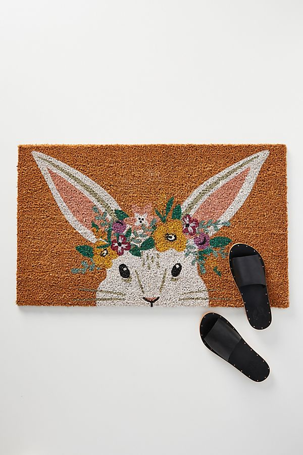Spring Doormats That Will Greet You With A Smile