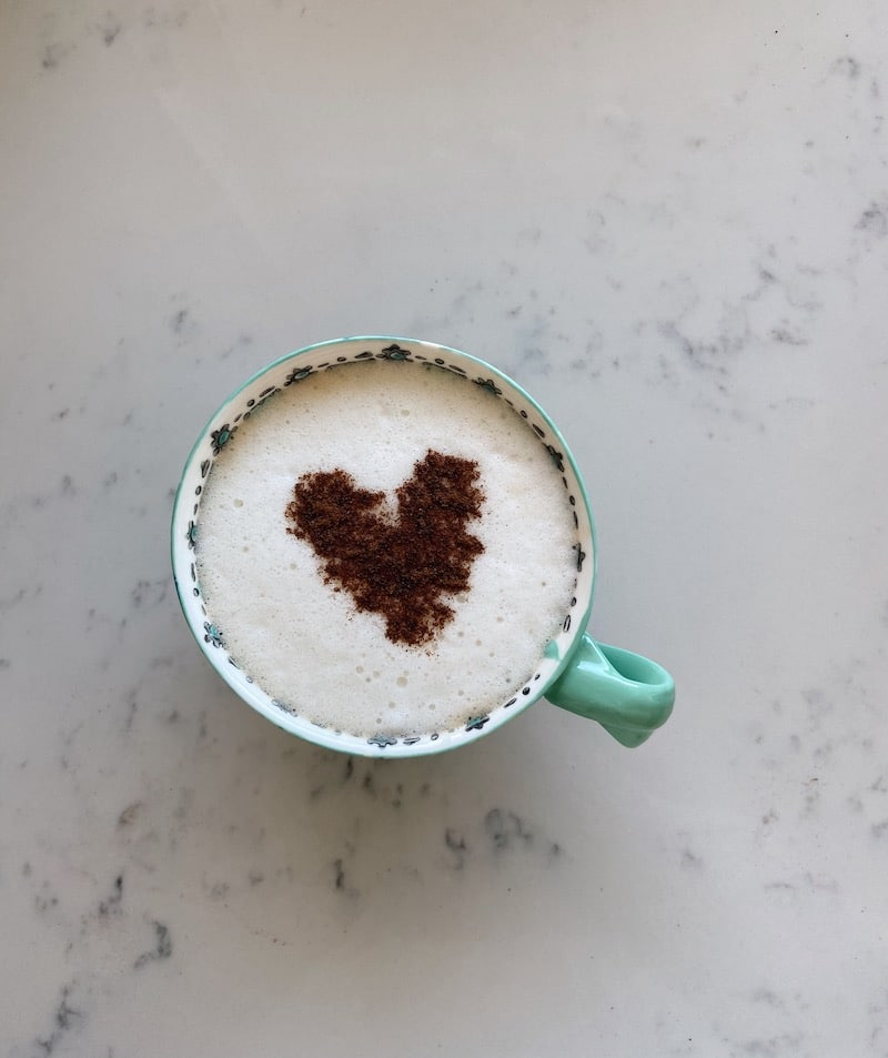 Daily Dose of Joy: Happy Cinnamon Latte Art