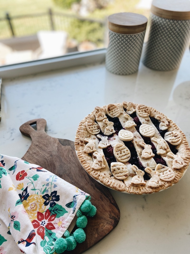 Easter Pie Making in the Kitchen