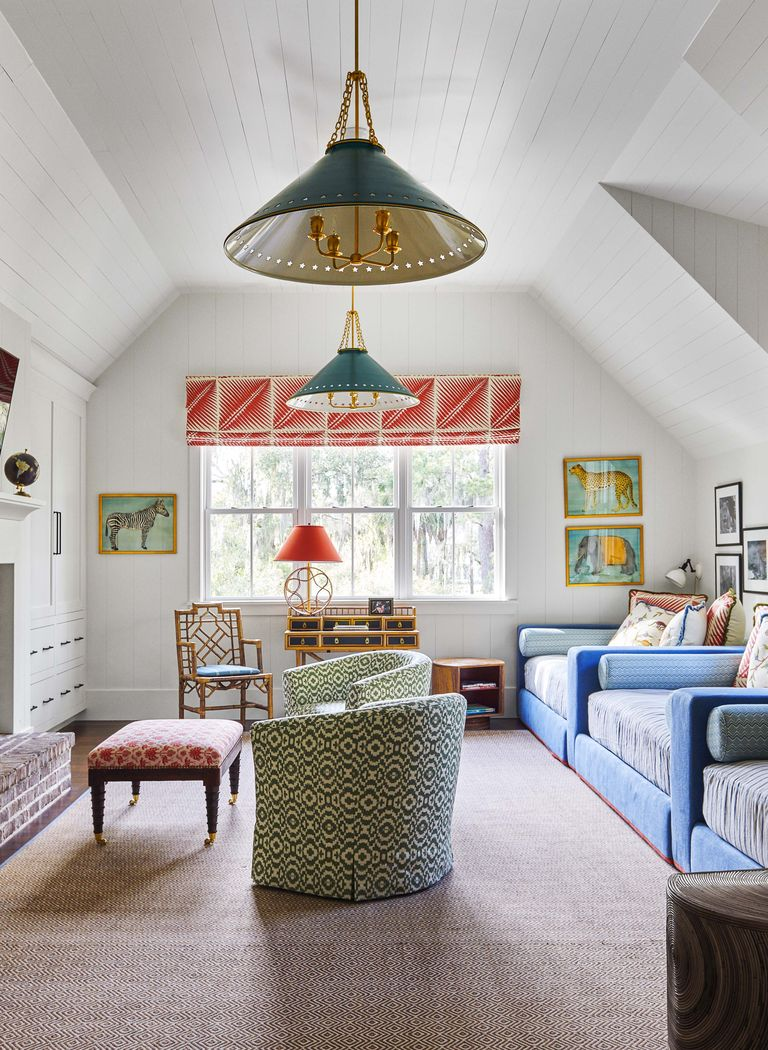 Happier Home: Adding Color to a Neutral Space