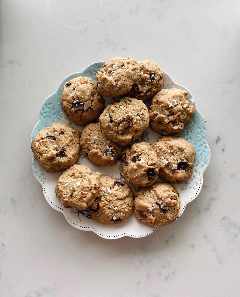 The Best Gluten-Free Vegan Chocolate Chip Cookies