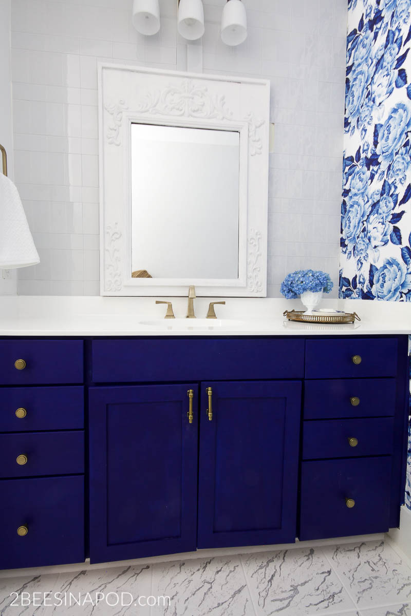 5 Inspiring Bathroom Makeovers On A Budget The Inspired Room