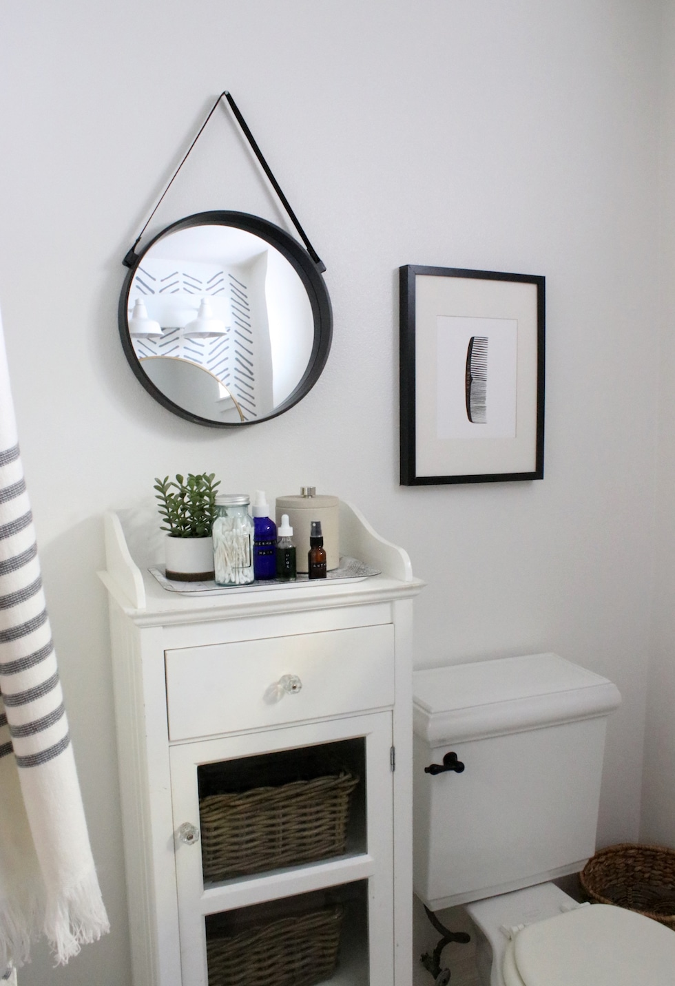 DIY Bathroom Makeover in a Month: Before & After