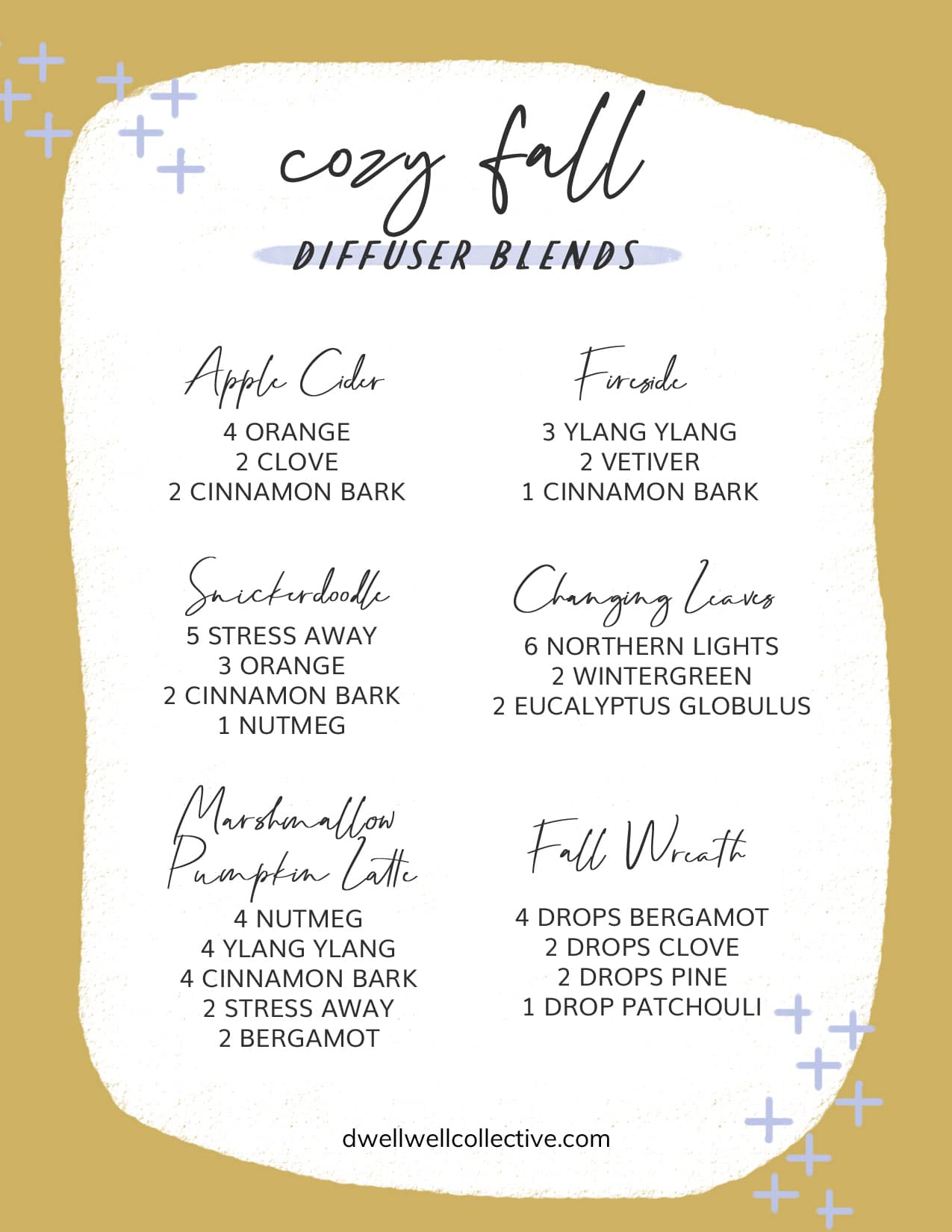 How to Create a Memorable Fall Home + Cozy Diffuser Blends
