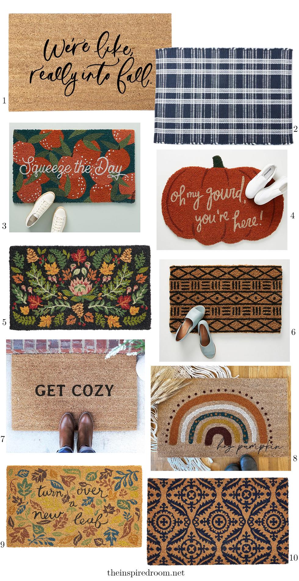 Fall Nesting & Doormats