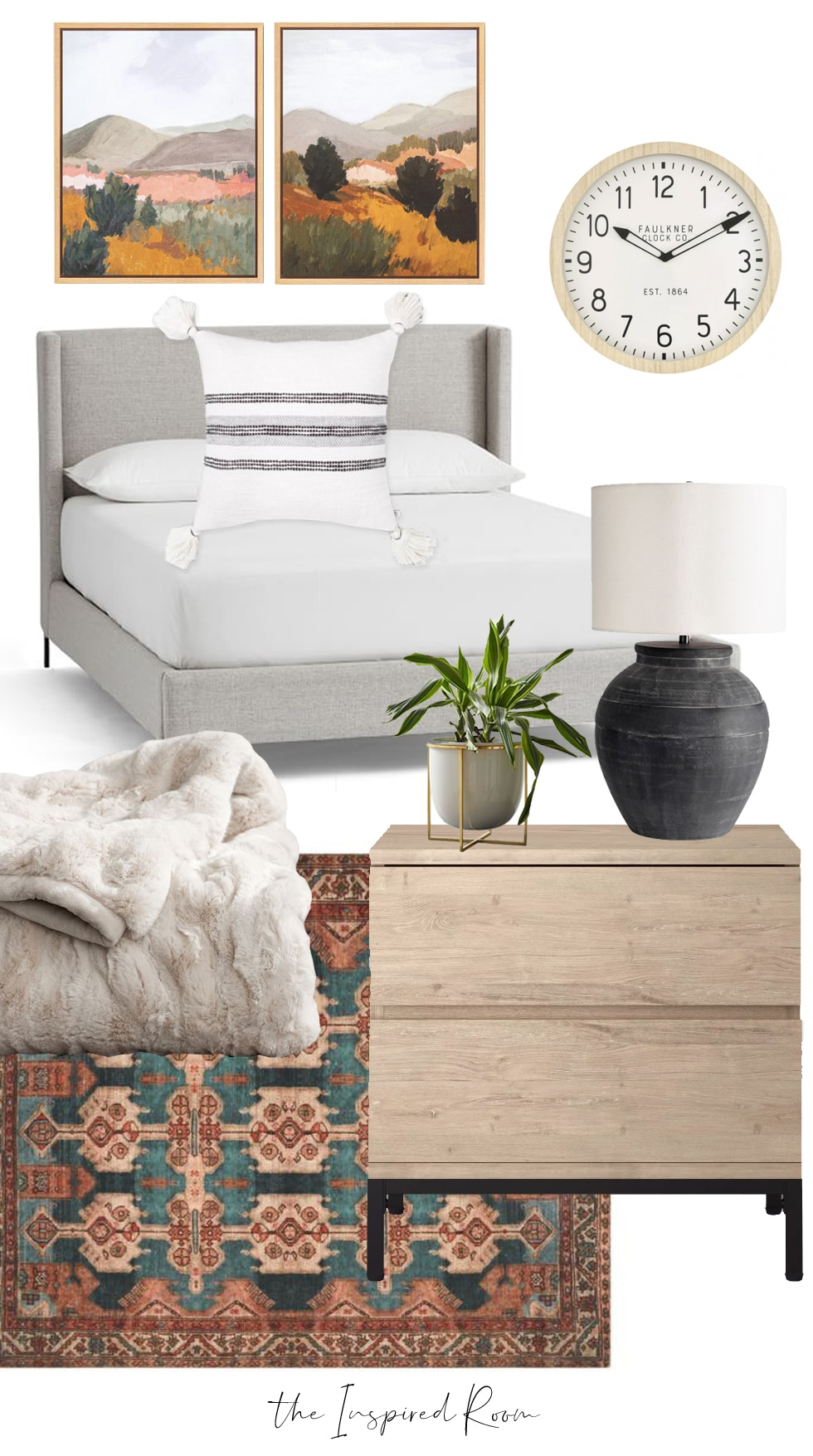 Cozy Bedroom Decorating Ideas + Mood Boards