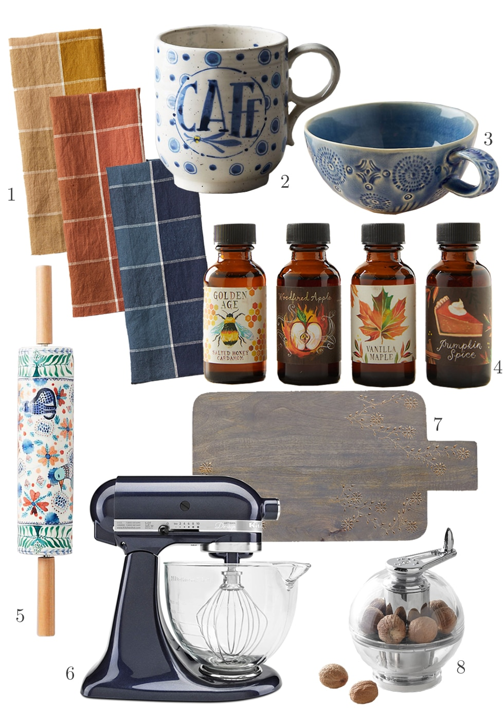 Fall Kitchen Accessories