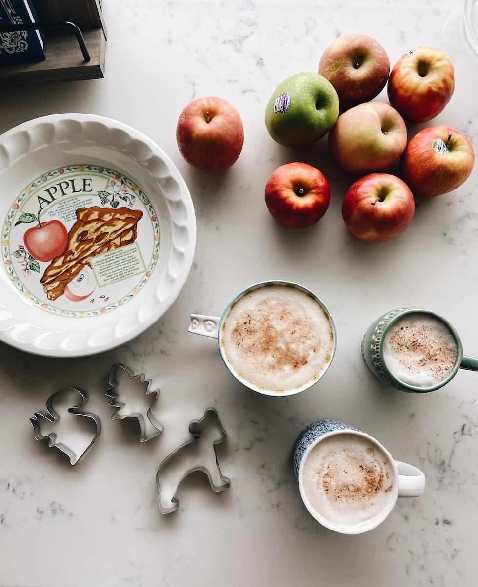 Woodland Themed Gluten-Free Vegan Apple Pie