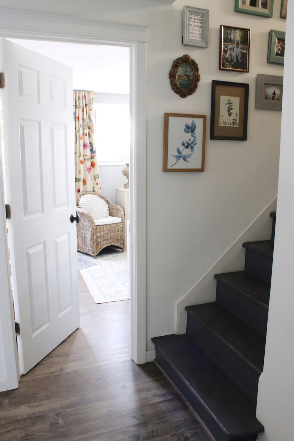 Transforming a 1950s Brick Ranch to a Charming Coastal Cottage - Before & Afters