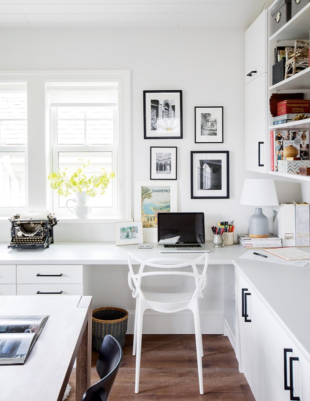 Beautiful + Organized Office Spaces
