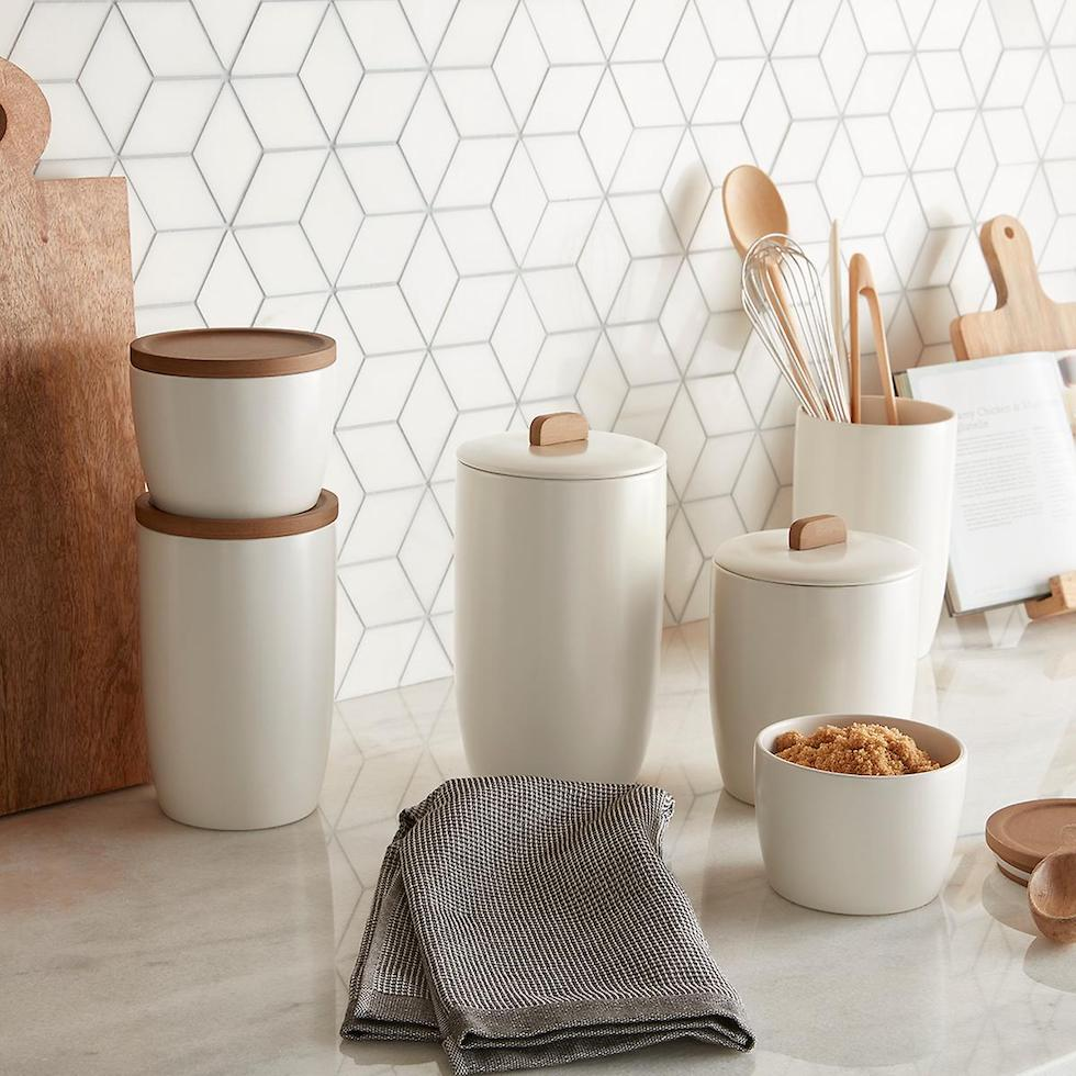Kitchen Canisters + Sources
