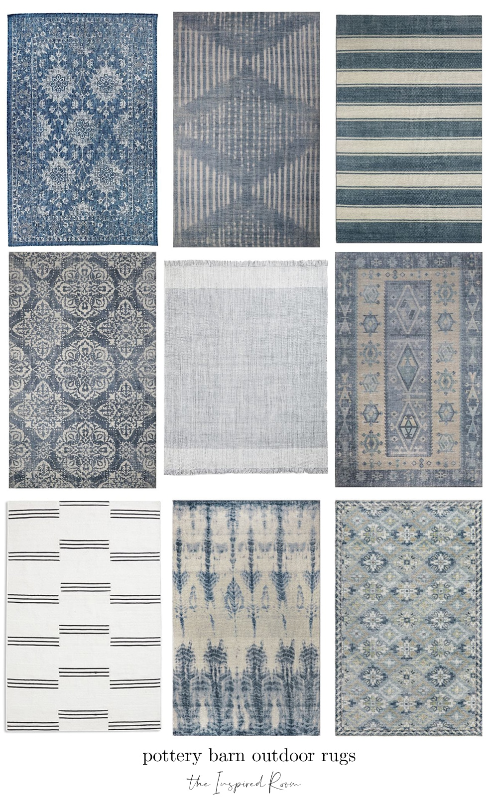 Ultimate Outdoor Rug Roundup (Target, Walmart, Pottery Barn, World Market, West Elm and more)