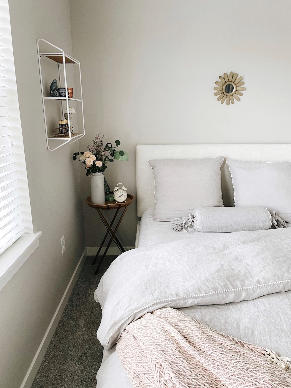Courtney's Small Apartment Bedroom