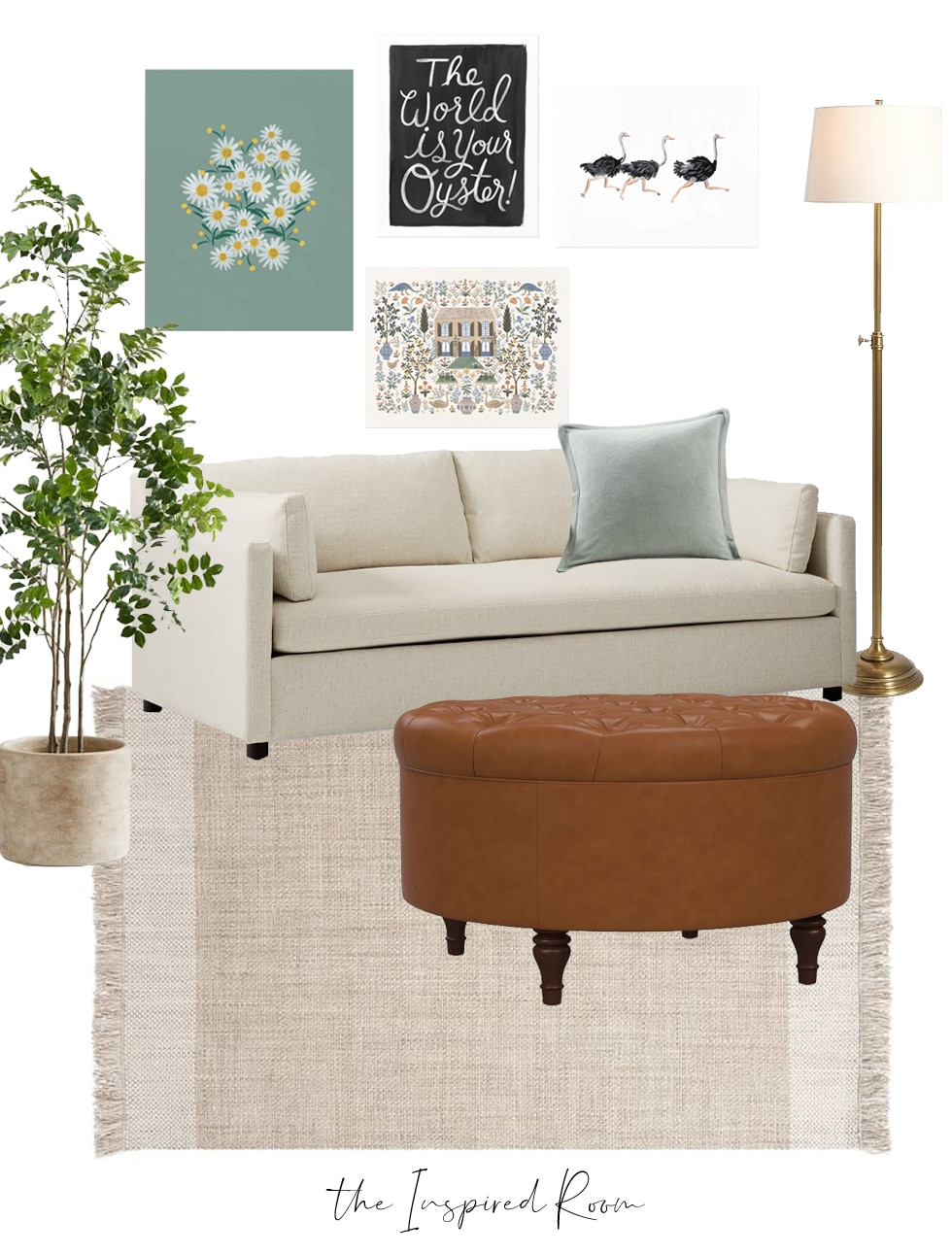 3 Common Decorating Mistakes with Displaying Art (+ Mood Boards + Buy One Get One Free Art Prints)