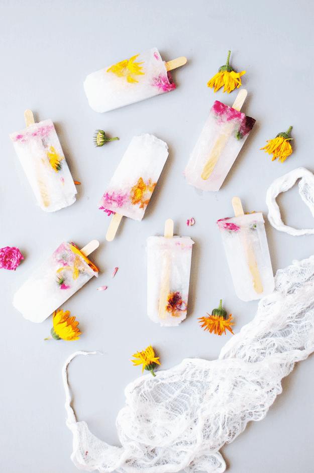 Fun Ways to Use Edible Flowers